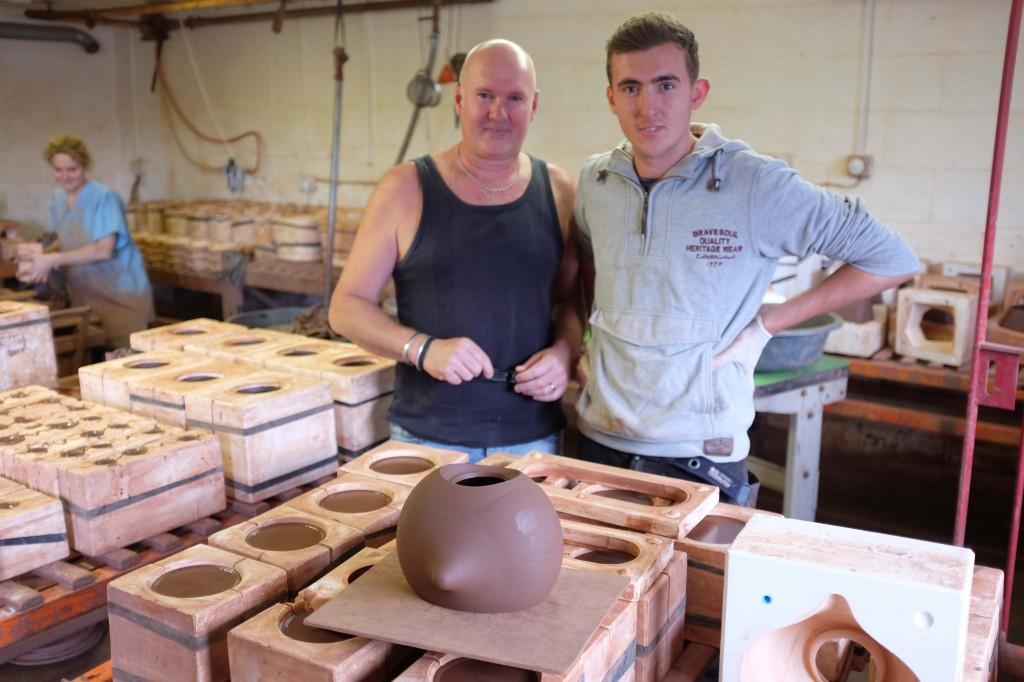 New potters providing terracotta sample